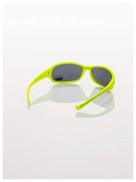 Dziecięce żółte okulary przeciwsłoneczne z filtrami                                  zdj.                                  3