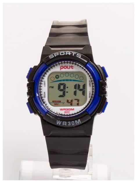 Dziecięcy zegarek sportowy wielofunkcyjny. Łatwy w obsłudze. Idealny dla dziecka. Wodoodporny.                                  zdj.                                  1