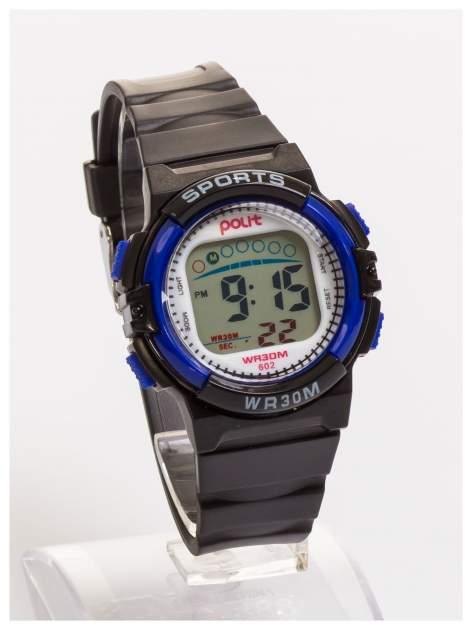 Dziecięcy zegarek sportowy wielofunkcyjny. Łatwy w obsłudze. Idealny dla dziecka. Wodoodporny.                                  zdj.                                  3