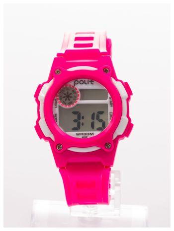 Dziecięcy zegarek sportowy wielofunkcyjny. Łatwy w obsłudze. Idealny dla dziecka. Wodoodporny. 2 kolory podświetlenia