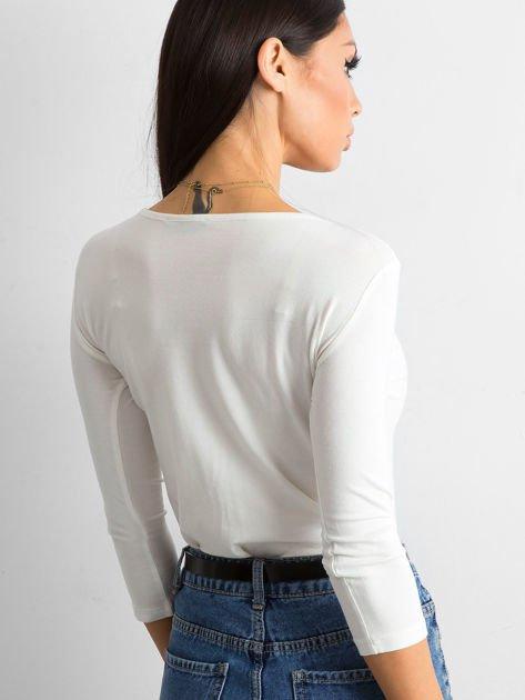 Ecru bluzka Mona                              zdj.                              2