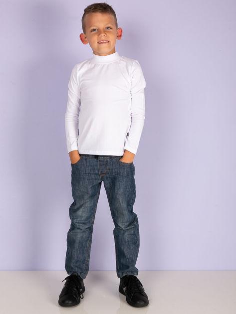 Ecru bluzka dziecięca z półgolfem                               zdj.                              19