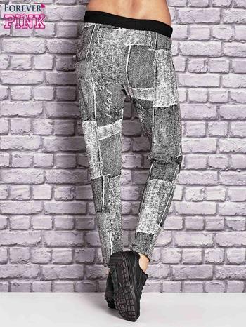 Ecru ocieplane spodnie dresowe                                   zdj.                                  2