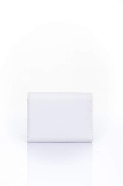 Ecru portfel z kokardką                                  zdj.                                  2