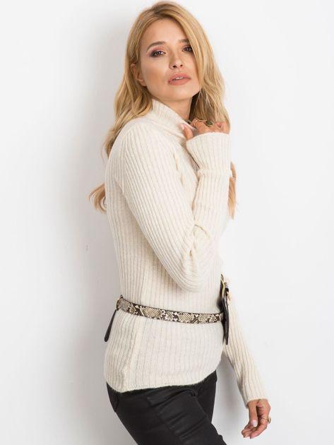 Ecru sweter Milo                              zdj.                              3