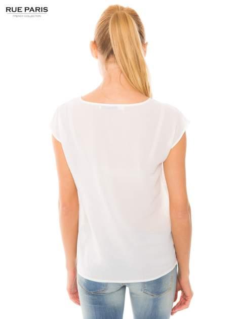 Ecru transparentna koszula                                  zdj.                                  6
