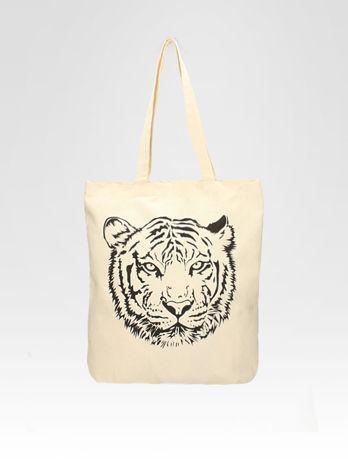 Ekotorba na zakupy z nadrukiem tygrysa                                  zdj.                                  5