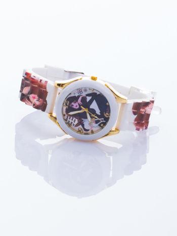 Ekstrawagancki damski zegarek z malowniczym motywem. Wyróżnij się!                                  zdj.                                  2