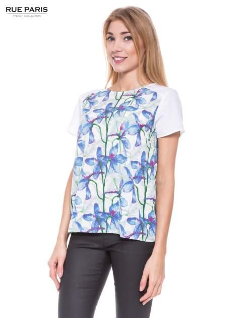 Elegancka koszula w kwiaty                                  zdj.                                  1