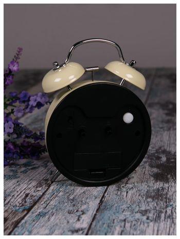 Elegancki i skuteczny :) BUDZIK zegarek stojący z lampką RETRO                               zdj.                              4
