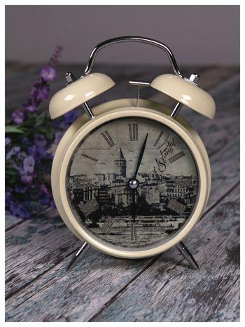 Elegancki i skuteczny :) BUDZIK zegarek stojący z lampką RETRO                                   zdj.                                  2