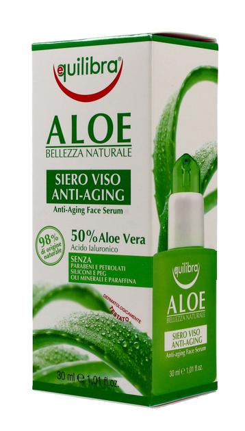 """Equilibra Aloe Serum przeciwstarzeniowe do twarzy 50% aloesu  30ml"""""""