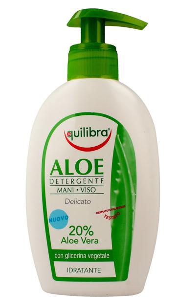"""Equilibra Aloe Żel oczyszczający do twarzy i rąk  300ml"""""""