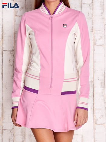 FILA Różowa sukienka sportowa z suwakiem                                  zdj.                                  1