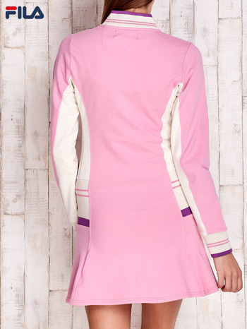 FILA Różowa sukienka sportowa z suwakiem                                  zdj.                                  2