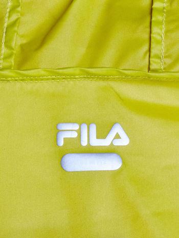 FILA Zielona kurtka z kapturem i troczkami                                  zdj.                                  4