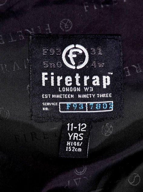 FIRETRAP Czarna pikowana kurtka chłopięca                               zdj.                              4