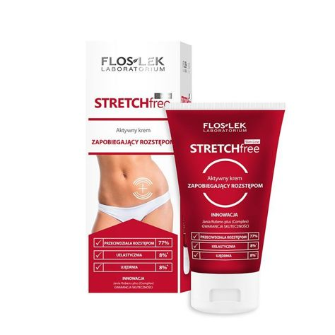 FLOSLEK Aktywny krem zapobiegający rozstępom stretch-free 150 ml