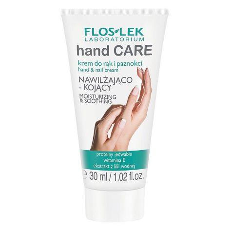 FLOSLEK MINI Krem do rąk i paznokci nawilżająco-kojący 30 ml