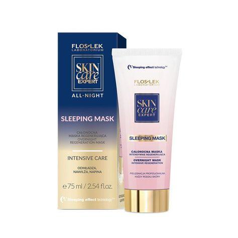 FLOSLEK SLEEPING EFFECT Całonocna maska regenerująca 75 ml