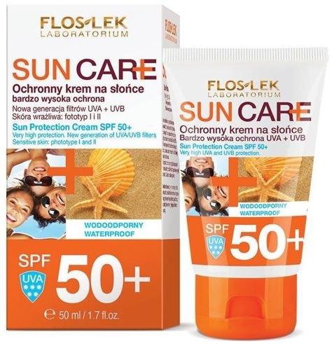 FLOSLEK Sun Care Krem ochronny do opalania SPF 50+ 50 ml