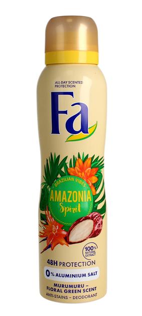 """Fa Amazonia Spirit Dezodorant spray damski  150ml"""""""
