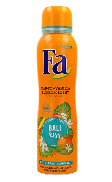 "Fa Bali Kiss Dezodorant spray  150ml"""
