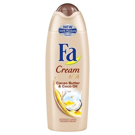 """Fa Creme & Oil Cacao & Coco oil Żel pod prysznic 250ml"""""""