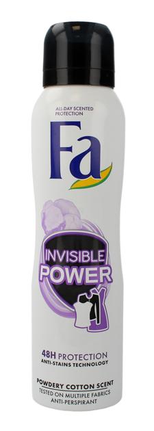 """Fa Invisible Power 48H Dezodorant spray  150ml"""""""