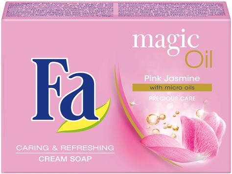 "Fa Magic Oils Mydło w kostce kremowe Pink Jasmine 90g"""