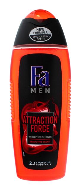 "Fa Men Attraction Force Żel pod prysznic 2w1  400 ml"""