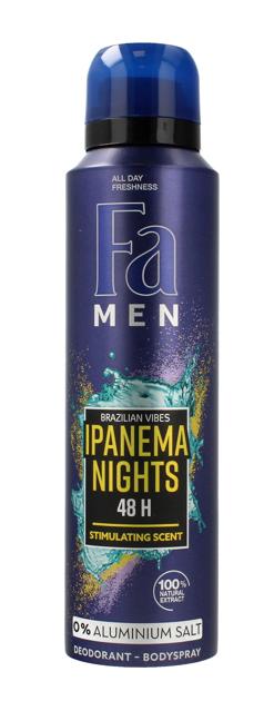 "Fa Men Ipanema Nights Dezodorant spray męski  150 ml"""