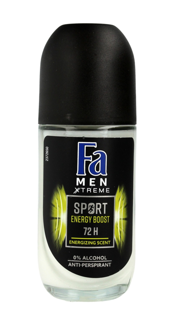 "Fa Men Xtreme Sport Energy Boost 72H Dezodorant w kulce  50ml"""