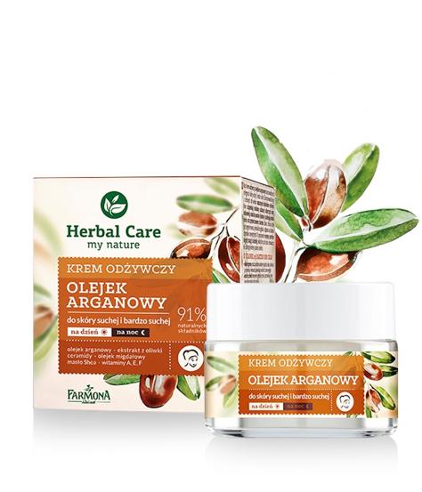 """Farmona Herbal Care Krem odżywczy z olejkiem arganowym na dzień i noc  50ml"""""""