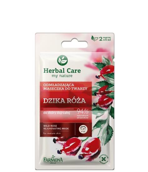 """Farmona Herbal Care Maseczka odmładzająca Dzika Róża - saszetka 5ml x 2"""""""