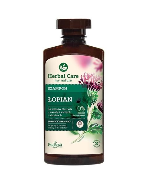 "Farmona Herbal Care Szampon Łopian  330ml"""