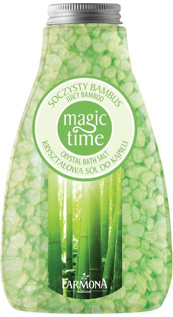 "Farmona Magic Time Soczysty Bambus Sól do kąpieli  510g"""
