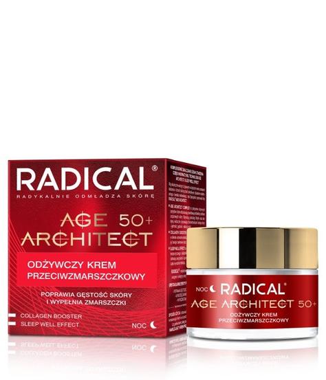 """Farmona Radical Age Architect 50+ Odżywczy Krem przeciwzmarszczkowy na noc  50ml"""""""