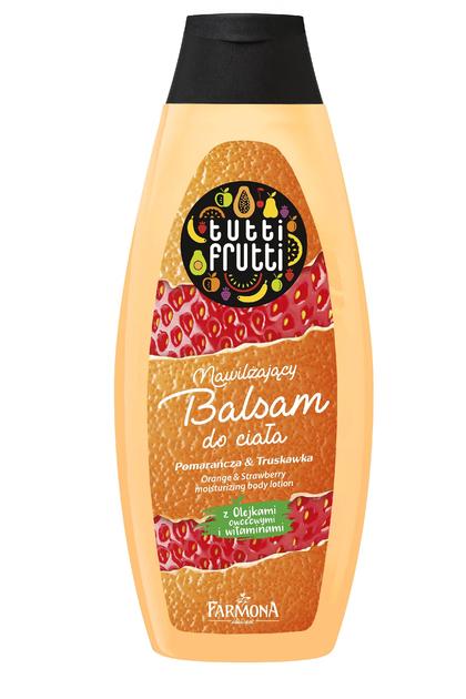 """Farmona Tutti Frutti Balsam do ciała nawilżający Pomarańcza & Truskawka  425ml"""""""