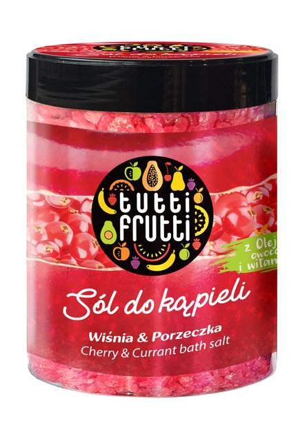 """Farmona Tutti Frutti Sól do kąpieli Wiśnia & Porzeczka  600g"""""""