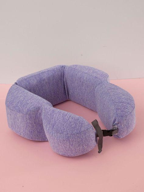 Fioletowa poduszka pod plecy                              zdj.                              2