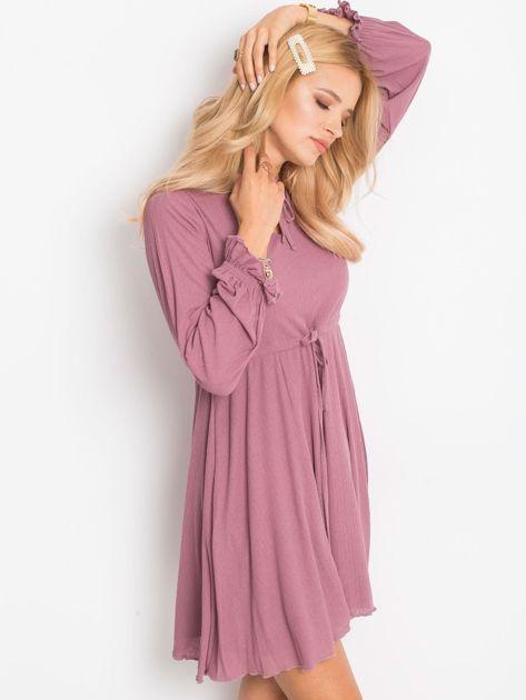 Fioletowa sukienka Forevermore                              zdj.                              3