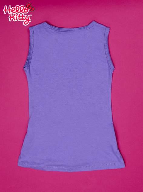 Fioletowa sukienka dla dziewczynki HELLO KITTY                                  zdj.                                  2