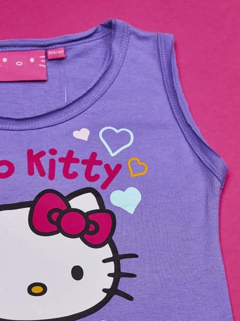 Fioletowa sukienka dla dziewczynki HELLO KITTY                                  zdj.                                  4