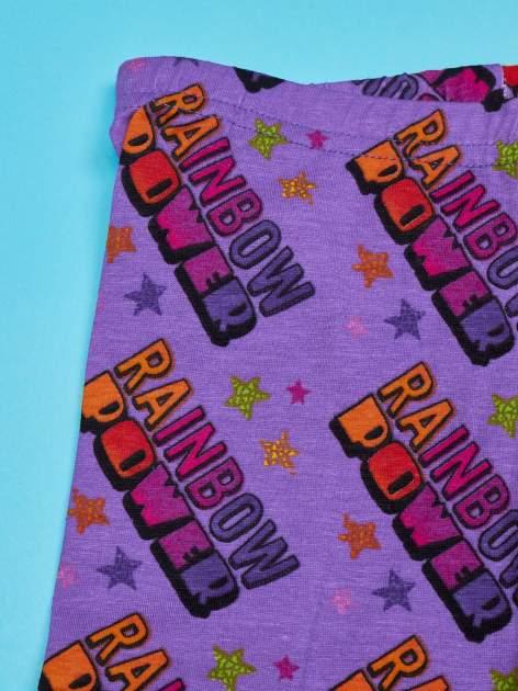Fioletowe legginsy dla dziewczynki MY LITTLE PONY                                  zdj.                                  3