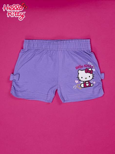 Fioletowe szorty dla dziewczynki HELLO KITTY                                  zdj.                                  1