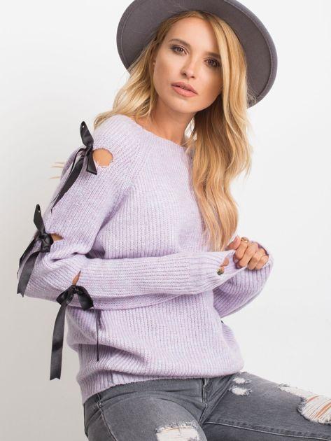 Fioletowy sweter Hailee                              zdj.                              1