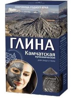 Fitocosmetics Glinka kosmetyczna czarna kamczacka 100 g