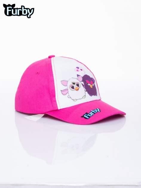 Fuksjowa czapka z daszkiem dla dziewczynki FURBY                                  zdj.                                  2