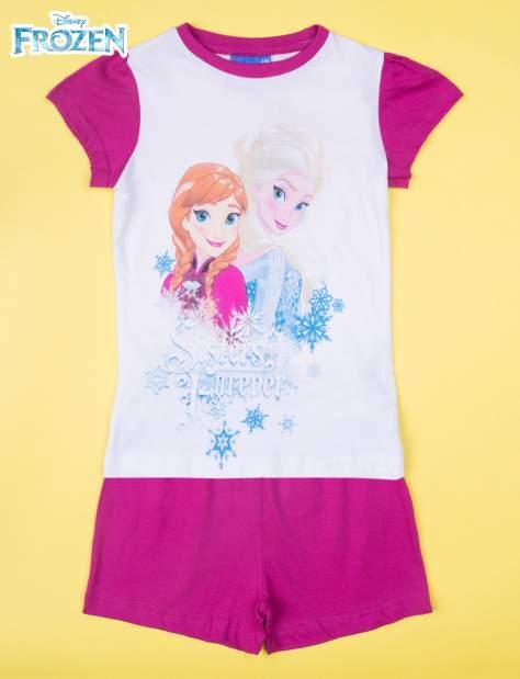 Fuksjowa piżama dla dziewczynki KRAINA LODU                                  zdj.                                  1